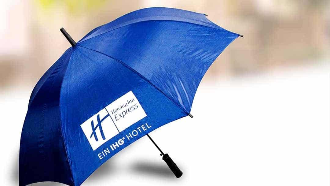 Regenschirm Textildruck
