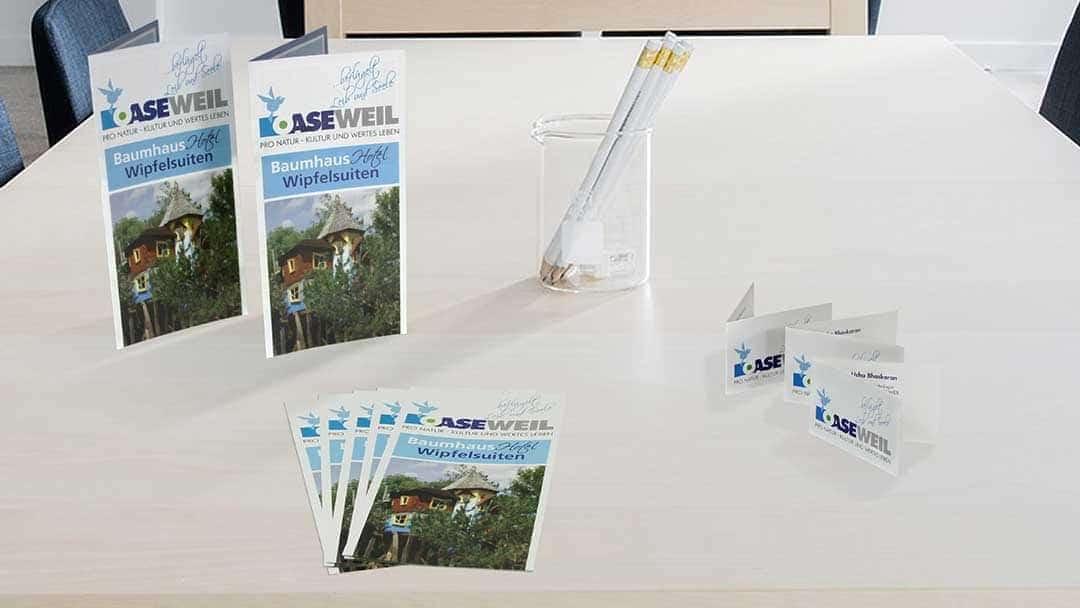 Geschäftsausstattung OaseWeil